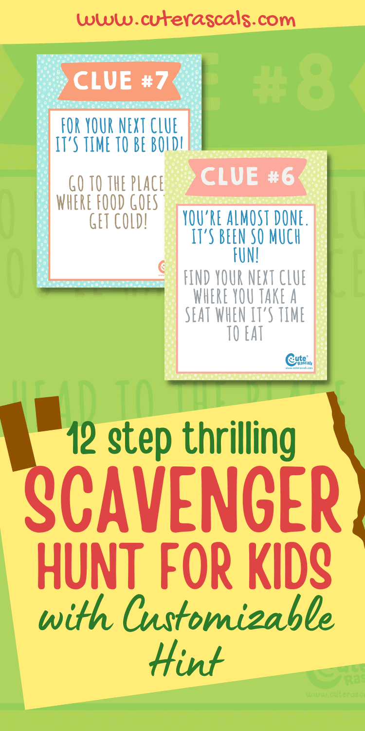 The Only Indoor/Outdoor Scavenger Hunt For Kids You Need To Have A Good Time