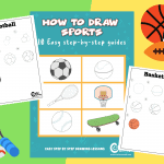 How to Draw: 10 Creative Sports Step-By-Step Drawing Guide