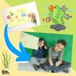 Sympathetic Algae Compassion for Kids and Taking Care of the Sea Worksheets (4-6 Year Olds)