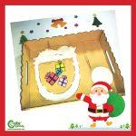 Santa Claus Eating Presents Christmas Activities for Preschoolers Montessori Worksheets (4-6 Year Olds)