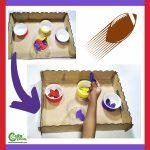 Easy Football Activity for Kids Fine Motor Skills Montessori Worksheets (4-6 Year Olds)