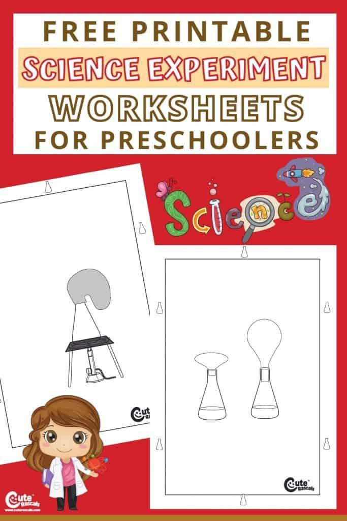Free printable science worksheets for preschoolers