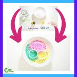 New Year Volcano of Colors Fun Preschool Science Experiment STEM Montessori Worksheets (4-6 Year Olds)