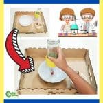 Winter Fire STEM Science Experiment for Kids at Home Montessori Worksheets (4-6 Year Olds)