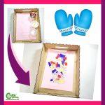 Cool Mittens Preschool Winter Crafts Montessori Worksheets (4-6 Year Olds)
